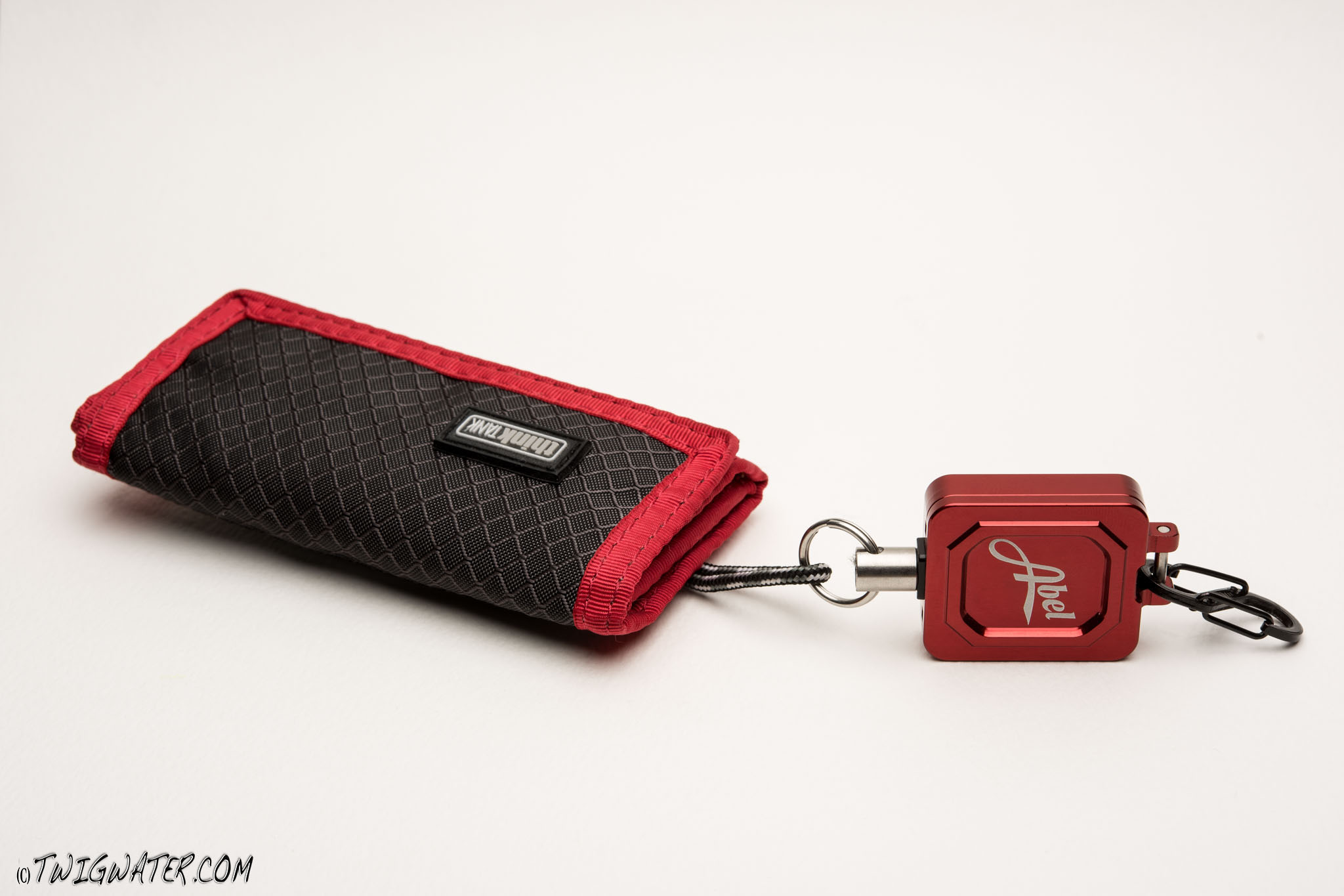 Abel Zinger used with Thinktank memory card wallet.
