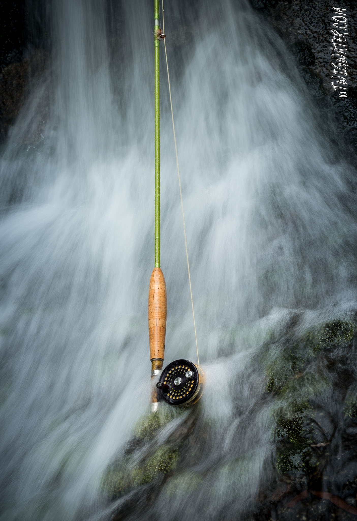 Iluin Yomogi 3 weight glass rod review on twigwater