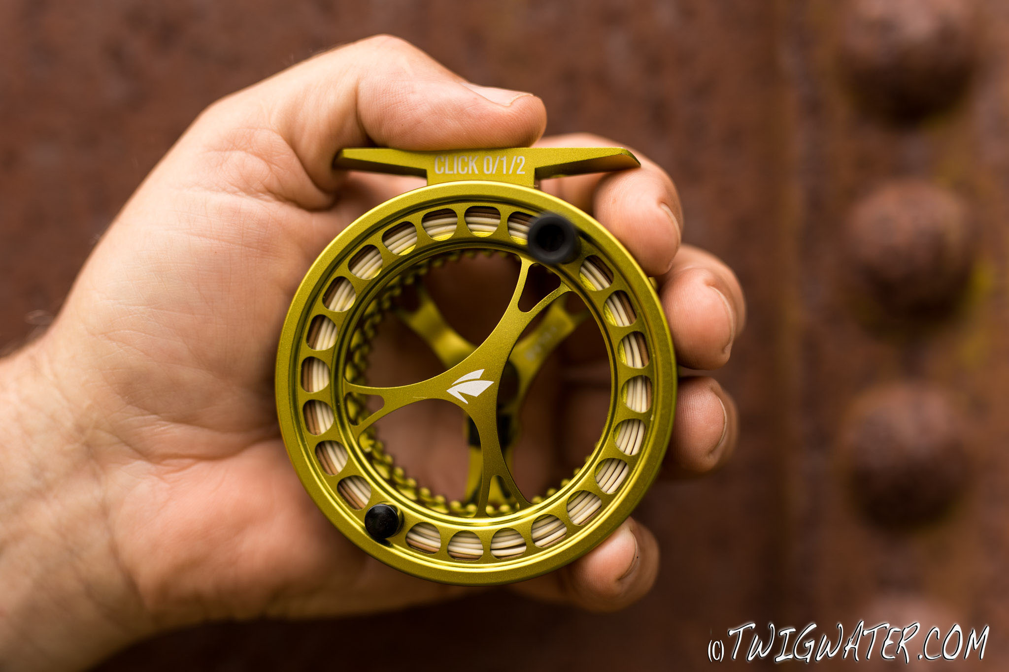 Sage Click Reel review on twigwater.com fly reel