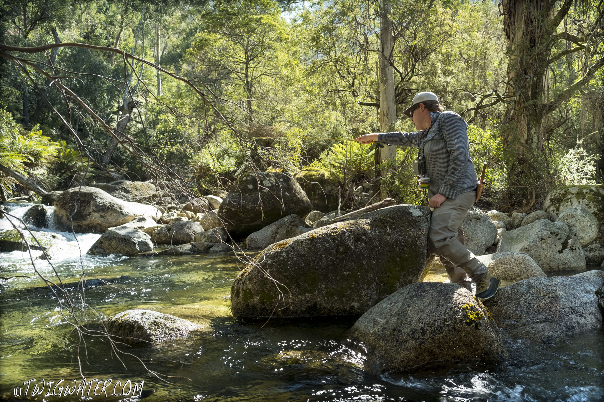 Vision Onki fly rod review on Twigwater
