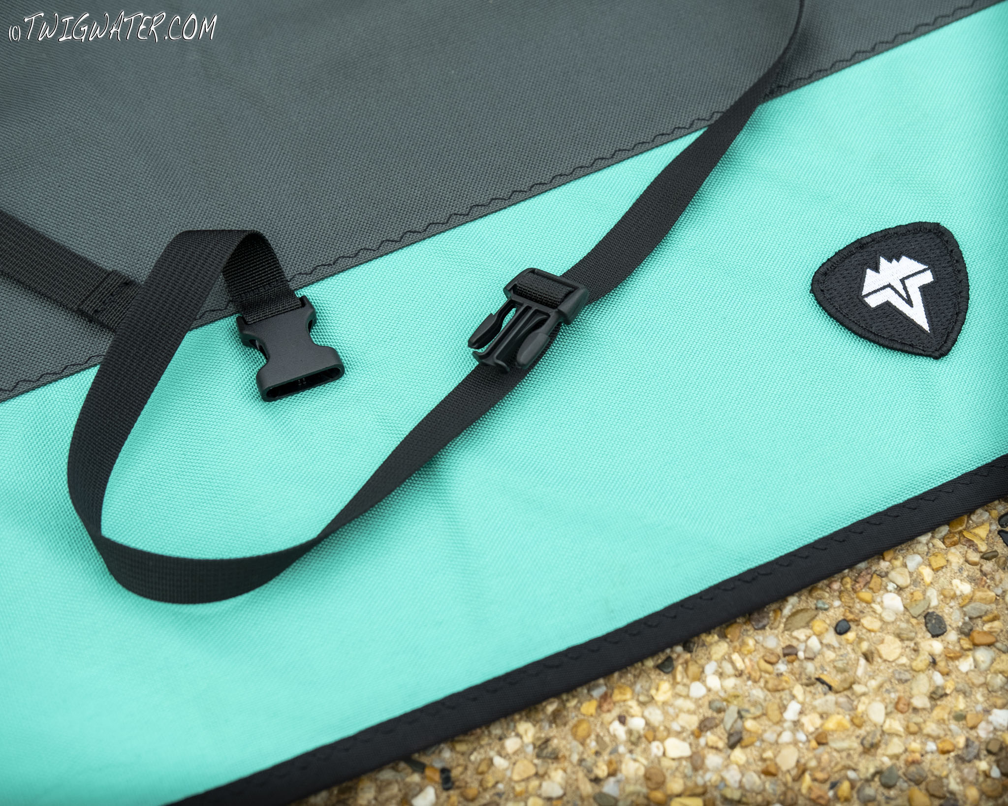 Vedavoo Rod Quiver in Teal and Black
