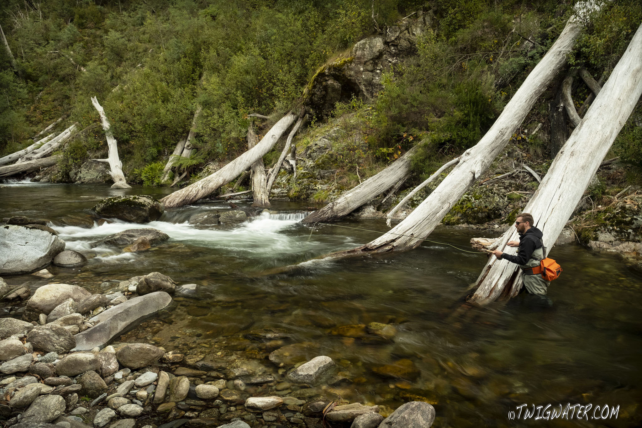 Sage Foundation Flyrod review on twigwater